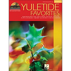 Hal Leonard Yuletide Favorites Book/CD Volume 13 Piano Play-Along arranged for piano, vocal, and guitar (P/V/G) (311138)