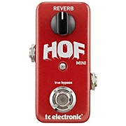 TC Electronic Hall Of Fame Mini Reverb Guitar Effects Pedal