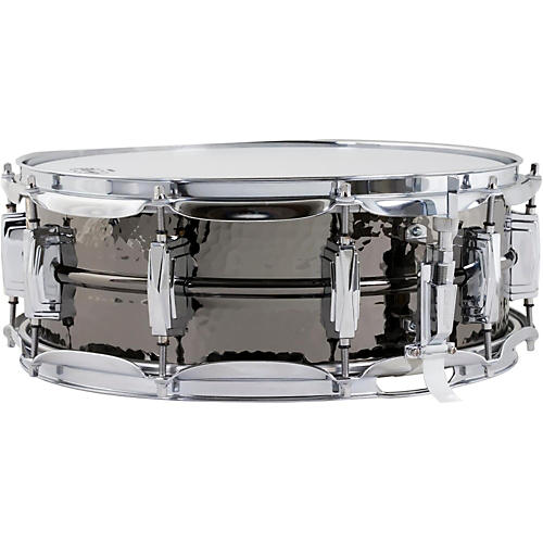 Ludwig Hand Hammered Black Beauty Snare Drum with Imperial Lugs 14 x 5 in.
