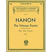 G. Schirmer Hanon Virtuoso Pianist Book 1 60 Exercises Nos 1-20 By Hanon