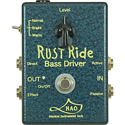 Hao Rust Ride Bass Overdrive Pedal (RR-1)
