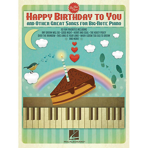 Hal Leonard Happy Birthday To You And Other Great Songs For Big-Note Piano-thumbnail