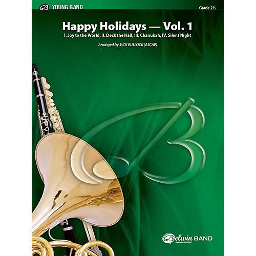 Alfred Happy Holidays, Vol. 1 Concert Band Grade 2 Set-thumbnail