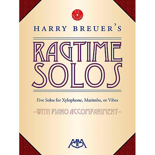 Meredith Music Harry Breuer's Ragtime Solos Book/CD-thumbnail