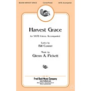 Fred Bock Music Harvest Grace SATB composed by Glenn Pickett