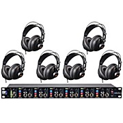 ART Headamp6 and MH310 Headphone Package (6-Pack)