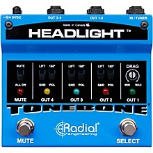 Radial Engineering Headlight Guitar Amp Selector Pedal