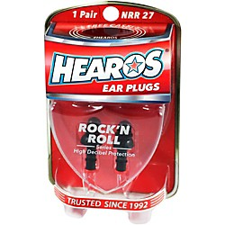 Hearos Rock 'n Roll Ear Filters (309)