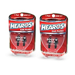 Hearos Rock n' Roll Ear Filters 2-Pack (309-2)