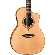 Luna Guitars Heartsong Parlor Acoustic Electric Guitar With USB