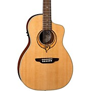 Luna Guitars Heartsong Parlor with USB Acoustic-Electric Guitar