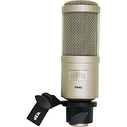 Heil Sound PR40 Large Diaphragm Multipurpose Dynamic Microphone (PR40)