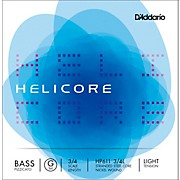 D'Addario Helicore Pizzicato Series Double Bass G String