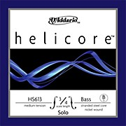 D'Addario Helicore Solo Series Double Bass Low B String