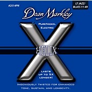 Dean Markley Helix Pure Nickel Light Jazz/Blues Electric Guitar Strings (11-49)