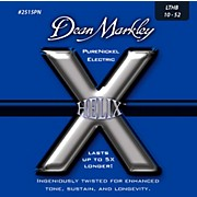 Dean Markley Helix Pure Nickel Light Top Heavy Bottom Electric Guitar Strings (10-52)