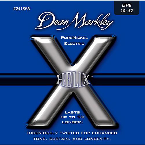 Dean Markley Helix Pure Nickel Light Top Heavy Bottom Electric Guitar Strings (10-52)-thumbnail