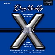 Dean Markley Helix Pure Nickel Medium Jazz Electric Guitar Strings (12-52)