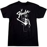 Fender Hendrix Peace Monochrome T-Shirt
