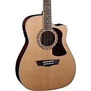 Washburn Heritage Series HF11SCE Acoustic-Electric Folk Guitar