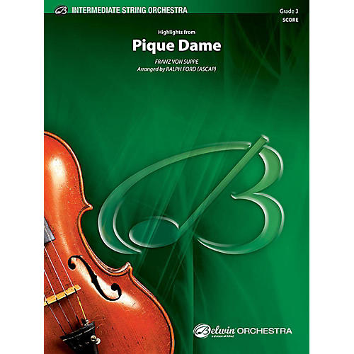 Alfred Highlights from Pique Dame String Orchestra Grade 3 Set-thumbnail
