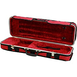 Hiscox Cases Violin Case Rectangular Fitted (OVNC-BURG)
