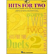 Hal Leonard Hits for Two (Instrumental Duets) for Flute Book/CD Pkg