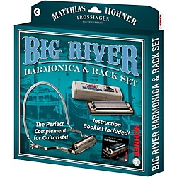 Hohner 590X Big River Harmonica Instruction Pack (590-HH01BX)
