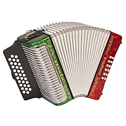 Hohner Corona II 3500 ADG Accordion (3500ARWG)