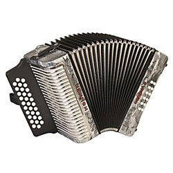 Hohner Corona II 3500 GCF Accordion (3500GGR)