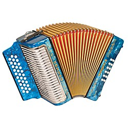 "Hohner Corona II Classic, Key of ""ADG"" Diatonic ACC Accordion (3523ALB)"