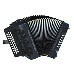 Hohner El Rey Del Vallenato GCF Accordion (RVGB)