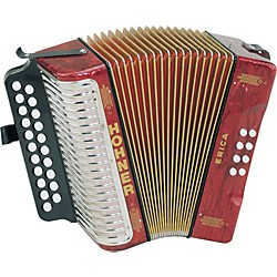 Hohner Erica Two-Row Accordion (3000GR)