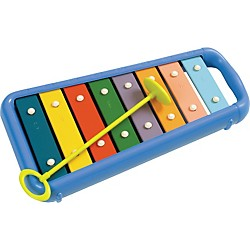 Hohner Kids Toddler Glockenspiel with Bag and Safety Mallet (HMX3008B)