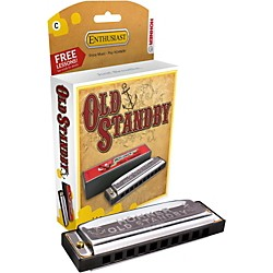 Hohner Old Standby Harmonica (34B-BX-G)
