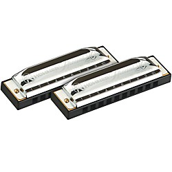 Hohner Progressive Series 560 Special 20 Harmonica 2-Pack (SPECIAL 20-2-PACK 1)