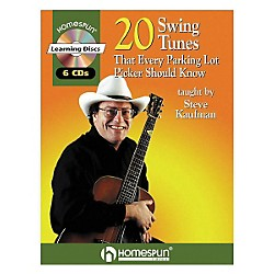 Homespun 20 Swing Tunes That Every Parking Lot Picker Should Know Guitar Book with CD (641591)