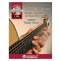 Homespun A Beginner's Guide to Chord Positions (Book/CD) (641569)