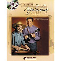 Homespun APPALACHIAN MANDOLIN & DULCIMER BOOK/CD (642082)