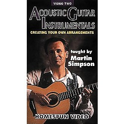 Homespun Acoustic Guitar Instrumentals 2 (VHS) (641031)