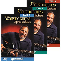 Homespun Acoustic Guitar Jorma Kaukonen 3 DVD Set (641754)