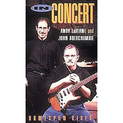 Homespun Andy LaVerne and John Abercrombie in Concert (VHS) (641314)