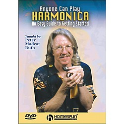 Homespun Anyone Can Play Harmonica: An Easy Guide To Getting Started DVD (641852)