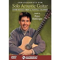 Homespun Arrangements for Solo Acoustic Guitar (DVD) (641610)