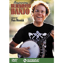 Homespun Beginning Bluegrass Banjo DVD (641606)