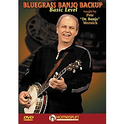 Homespun Bluegrass Banjo Backup For Beginners DVD (642009)
