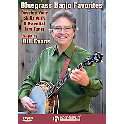 Homespun Bluegrass Banjo Favorites: Develop Your Skills With 8 Essential Jam Favorites DVD (121291)