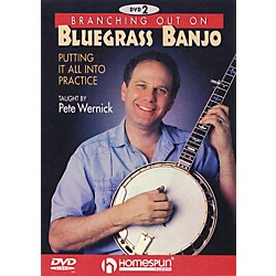 Homespun Branching Out on Bluegrass Banjo 2 (DVD) (641758)