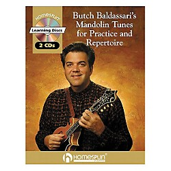 Homespun Butch Baldassari's Mandolin Tunes for Practice & Repertoire Book with CD (641612)