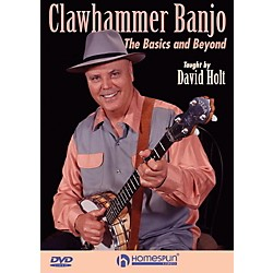 Homespun Clawhammer Banjo: The Basics And Beyond DVD (123774)